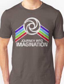 Vintage Journey Into Imagination EPCOT Center Distressed Logo Retro Style T-Shirt
