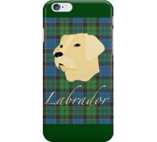 Labrador Tartan scottish scotland iPhone Case/Skin