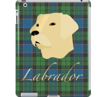 Labrador Tartan scottish scotland iPad Case/Skin