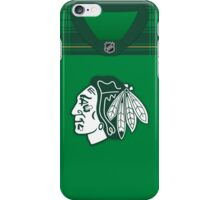Chicago Blackhawks St. Patrick's Day Jersey iPhone Case/Skin