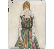 Egon Schiele - Portrait of Edith the artist's wife 1915 Woman Portrait iPad Case/Skin
