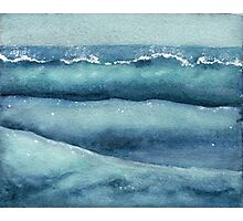 Emotions in waves Photographic Print