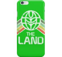 The Land Logo from EPCOT Center in Vintage Distressed Style iPhone Case/Skin