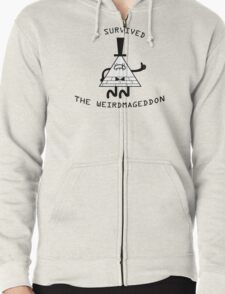 I survived the weirdmageddon! Zipped Hoodie