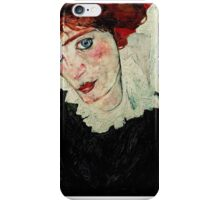 Egon Schiele - Portrait of Wally Neuzil 1912 iPhone Case/Skin
