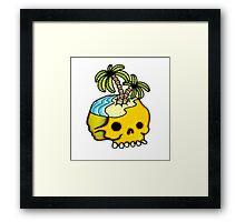 Dead Island Tattoo Flash Framed Print