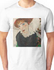 Egon Schiele - Portrait of Wally Neuzil 1912 Woman Portrait Unisex T-Shirt