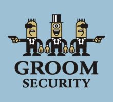 Groom Security Cartoon (Stag Party) by MrFaulbaum