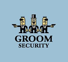 Groom Security Cartoon (Stag Party) Unisex T-Shirt