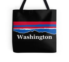 Washington Red White and Blue Tote Bag