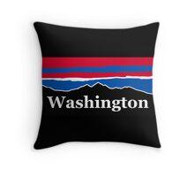Washington Red White and Blue Throw Pillow