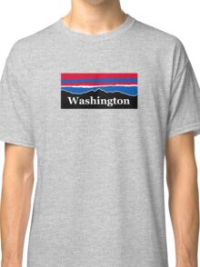 Washington Red White and Blue Classic T-Shirt
