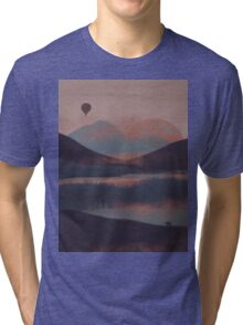Adrift in the Mountains... Tri-blend T-Shirt