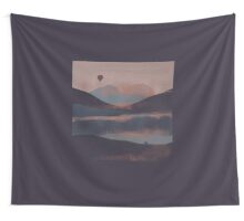 Adrift in the Mountains... Wall Tapestry