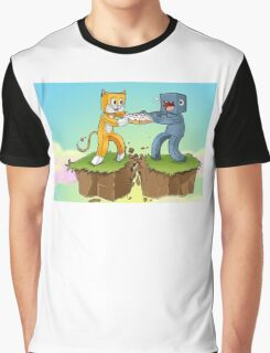 Stampy Vs Squid Graphic T-Shirt