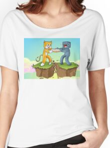 Stampy Vs Squid Women's Relaxed Fit T-Shirt