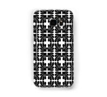 Black and white modern minimal ink painting pattern splash water  Samsung Galaxy Case/Skin
