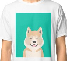 Akita dog owner must have gift home decor dog breed akita puppy cute  Classic T-Shirt