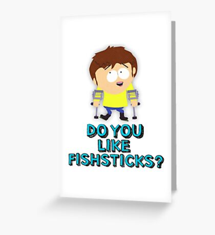 South park Jimmy Greeting Card