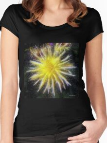Celestial Blossoms Women's Fitted Scoop T-Shirt