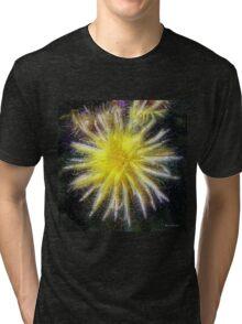 Celestial Blossoms Tri-blend T-Shirt