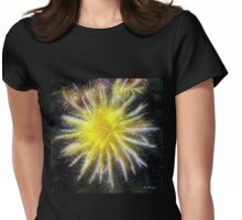 Celestial Blossoms Womens Fitted T-Shirt