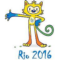 Rio 2016 Mascot - Design 1 Photographic Print