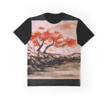 Autumn Water Graphic T-Shirt