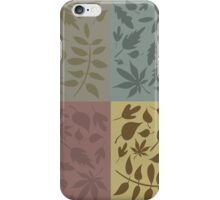 leaves iPhone Case/Skin