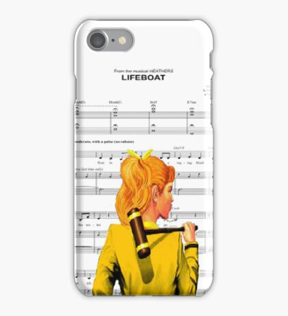 Lifeboat Heathers iPhone Case/Skin