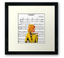 Lifeboat Heathers Framed Print