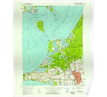 New York NY Southampton 136215 1956 24000 Poster