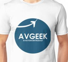 Aviation Geek Official Logo Unisex T-Shirt