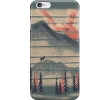Mountain Goat Drifter... iPhone Case/Skin