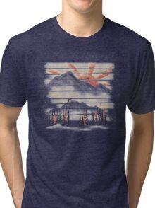 Mountain Goat Drifter... Tri-blend T-Shirt