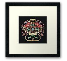 Alien tribe  Framed Print