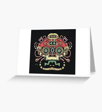 Alien tribe  Greeting Card