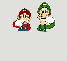 Hipster Mario Bros  Unisex T-Shirt