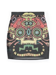 Alien tribe  Mini Skirt