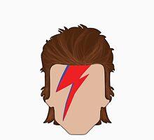 """Bowie """"Ziggy Stardust"""" Men's Baseball ¾ T-Shirt"""