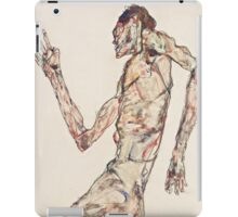 Egon Schiele - The Dancer 1913  Expressionism  Portrait iPad Case/Skin