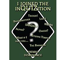 InQUIZition Green - OG Photographic Print