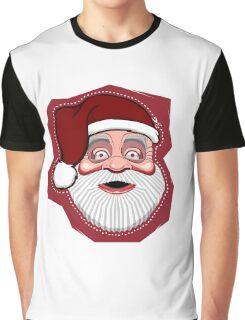 Merry Christmas: santa mask Graphic T-Shirt