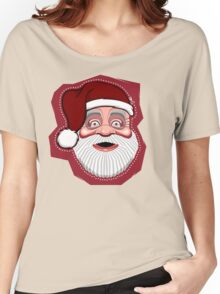 Merry Christmas: santa mask Women's Relaxed Fit T-Shirt