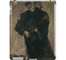 Egon Schiele - The Hermits 1912 iPad Case/Skin