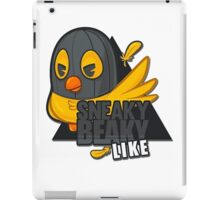 Sneaky Beaky Like iPad Case/Skin