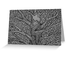 Witch and Wizard Tree Greeting Card