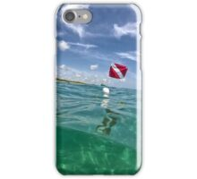 Diver Down - Blowing Rocks, Jupiter iPhone Case/Skin
