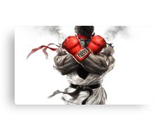 Street Fighter V: Ryu Poster Canvas Print