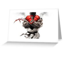 Street Fighter V: Ryu Poster Greeting Card